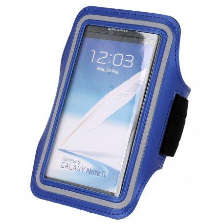 Etui do biegania na ramię Asus Zenfone 3 Max (ZC520TL) niebieski