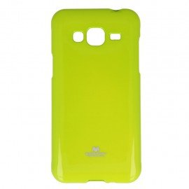 Etui na telefon Jelly Case do Samsung Galaxy J3 2016 J320F limonka