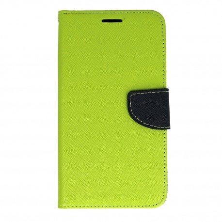 Etui portfelowe Fancy na telefon Samsung Galaxy J3 2016 J320F zielony