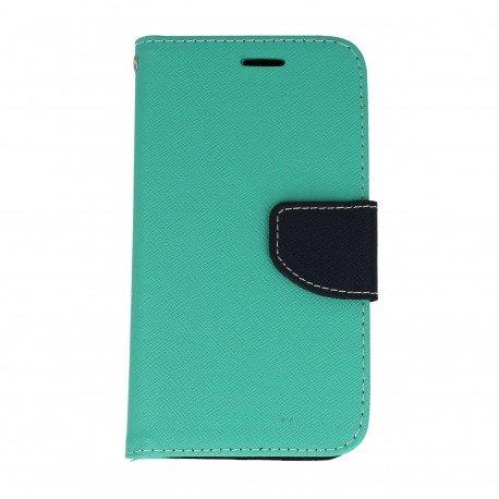 Etui portfelowe Fancy na telefon Lenovo Vive K5 miętowy