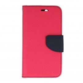 Etui portfelowe Fancy na telefon Lenovo Vibe K5 różowy