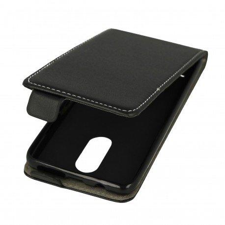 Etui z klapką Flexi do telefonu Lenovo K6 czarny
