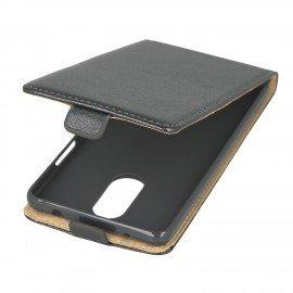 Etui z klapką Flexi do telefonu Lenovo K6 Note czarny