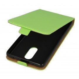 Etui z klapką Flexi do telefonu Lenovo K6 Note zielony