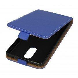Etui z klapką Flexi do telefonu Lenovo K6 Note niebieski