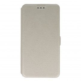 Etui na telefon Pocket Book do Lenovo K6 Note biały