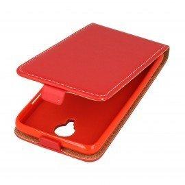 Etui z klapką Flexi do telefonu Lenovo C2 Power czerwony
