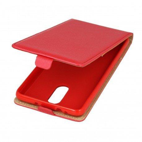 Etui z klapką Flexi do telefonu Xiaomi Redmi Note 3 czerwony