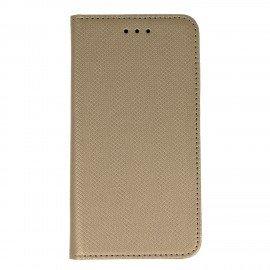 Etui boczne z klapką magnet book Xiaomi Redmi Note 4 złoty