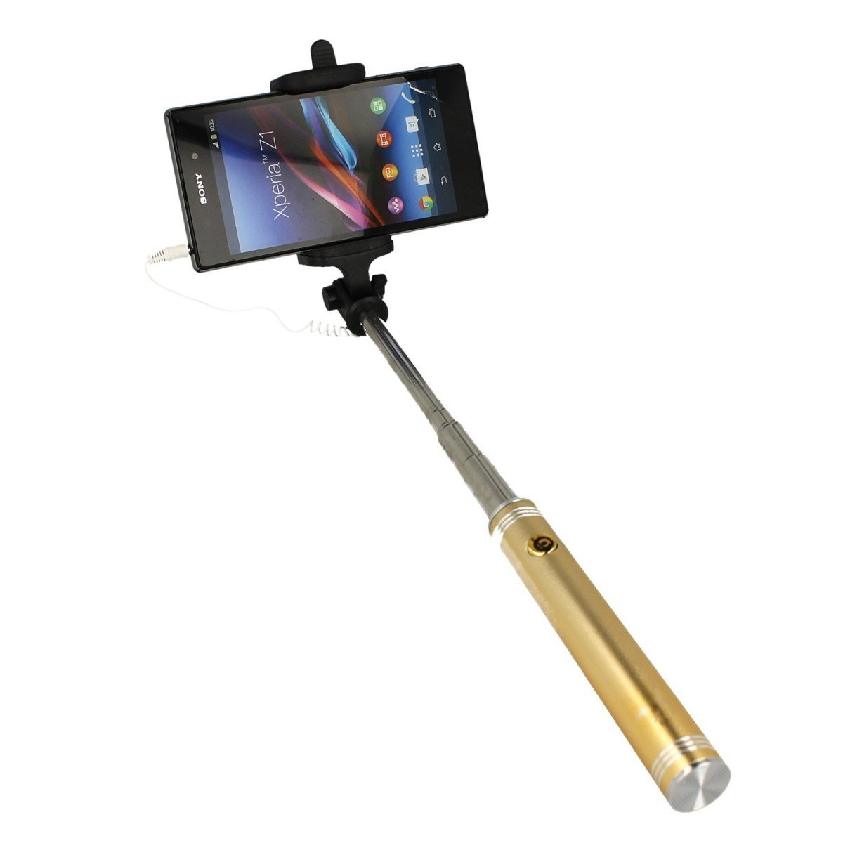 uchwyt selfie stick z pilotem w r czce do telefonu z oty marketgsm sklep krak w. Black Bedroom Furniture Sets. Home Design Ideas
