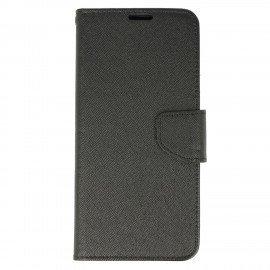 Etui portfelowe Fancy na telefon Samsung Galaxy S8 czarny