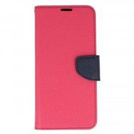 Etui portfelowe Fancy na telefon Samsung Galaxy S8 Plus różowy