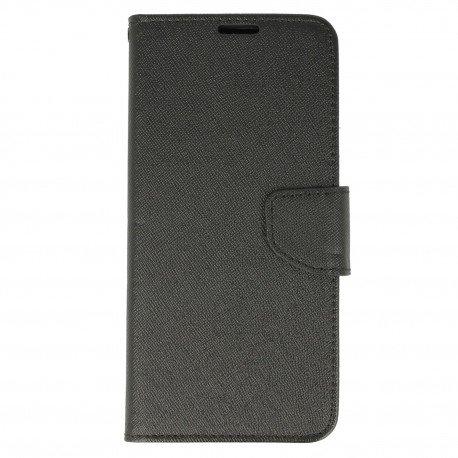 Etui portfelowe Fancy na telefon Samsung Galaxy S8 Plus czarny