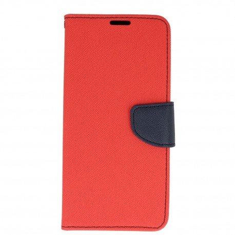 Etui portfelowe Fancy na telefon Samsung Galaxy S8 Plus czerwony