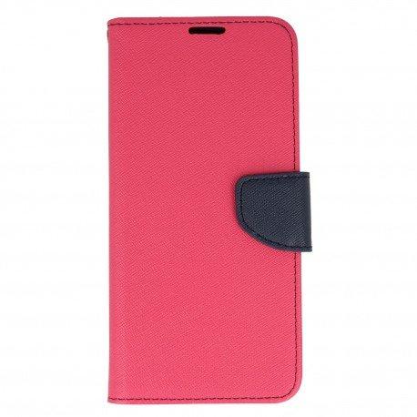 Etui portfelowe Fancy na telefon Samsung Galaxy S8 różowy