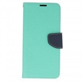 Etui portfelowe Fancy na telefon Samsung Galaxy S8 Plus miętowy