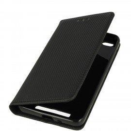 Etui boczne z klapką magnet book Xiaomi Redmi 4A czarny