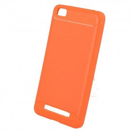 Etui na telefon Carbon Case do Xiaomi Redmi 4A czerwony