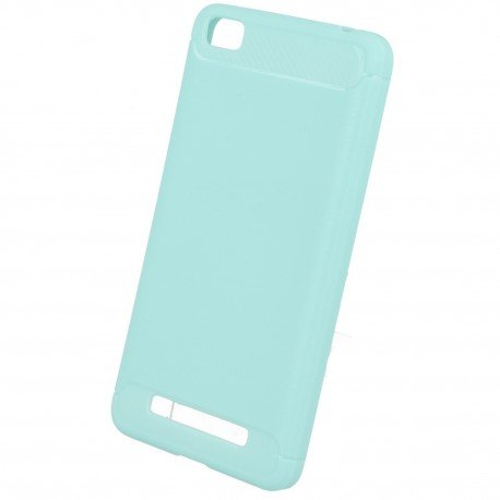 Etui na telefon Carbon Case do Xiaomi Redmi 4A niebieski