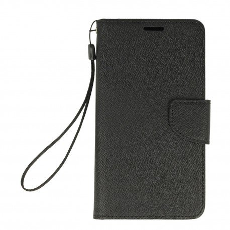 Etui portfelowe Fancy na telefon Xiaomi Redmi Note 4 czarny