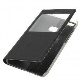 Etui S-View z funkcją podstawki do Huawei P10 Lite czarny