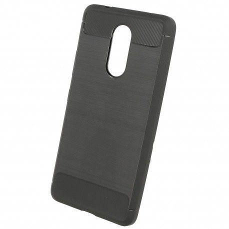 Etui na telefon Carbon Case do Lenovo K6 Note czarny