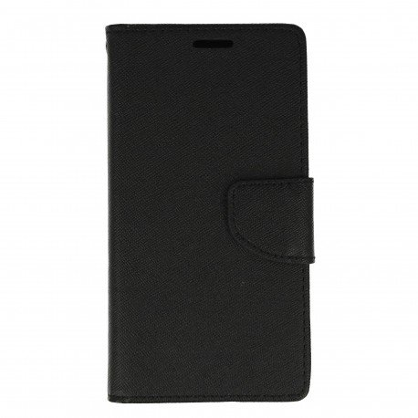 Etui portfelowe Fancy na telefon Xiaomi Mi5 czarny