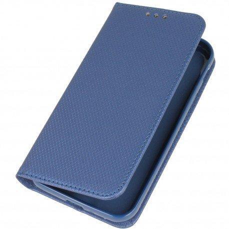 Etui boczne z klapką magnet book Samsung Galaxy Xcover 4 G390F granatowy
