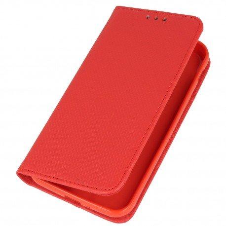 Etui boczne z klapką magnet book Samsung Galaxy Xcover 4 G390F czerwony