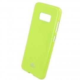 Etui na telefon Jelly Case do Samsung Galaxy S8 limonkowy