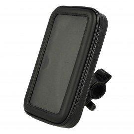 Wodoodporny Uchwyt rowerowy na telefon/smartfon rozmiar 5.1-5.5 cala