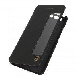 Etui z poziomą klapką na telefon Nillkin QIN do Huawei P10 czarny