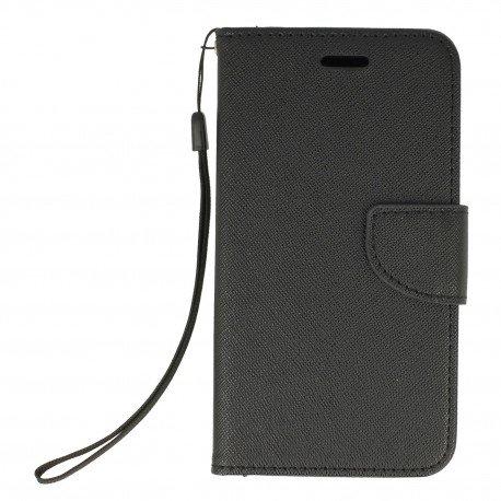 Etui portfelowe Fancy na telefon Xiaomi Redmi 4A czarny