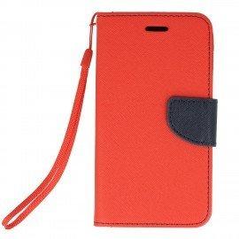 Etui portfelowe Fancy na telefon Xiaomi Redmi 4A czerwony