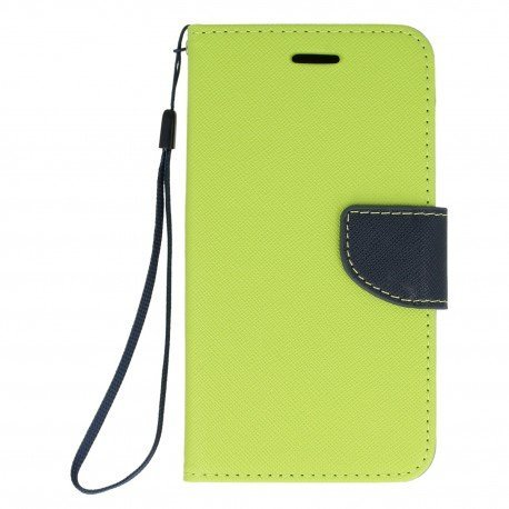 Etui portfelowe Fancy na telefon Xiaomi Redmi 4A limonka