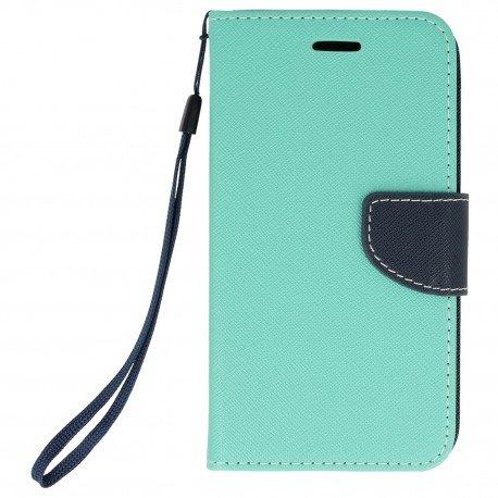 Etui portfelowe Fancy na telefon Xiaomi Redmi 4A miętowy