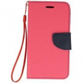 Etui portfelowe Fancy na telefon Xiaomi Redmi 4A różowy