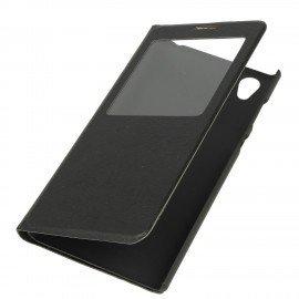 Etui S-View z funkcją podstawki do Sony Xperia L1 czarny