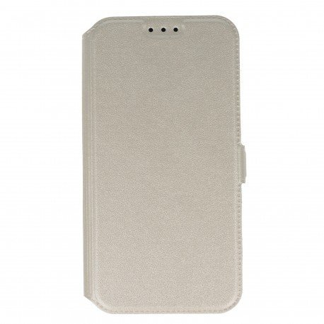 Etui na telefon Pocket Book na Samsung Galaxy J3 2017 biały