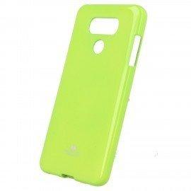 Etui na telefon Jelly Case do LG G6 H870 limonkowy
