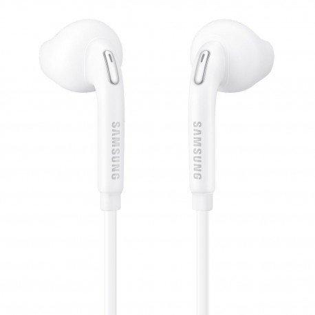 Oryginalne słuchawki Samsung EO-G920BB z mikrofonem do telefonu białe