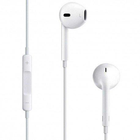 Oryginalne słuchawki Apple MD827ZMA iPhone 5/5S/6/6S/6 Plus z mikrofonem do telefonu białe