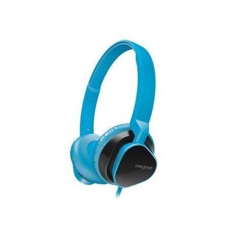 Słuchawki nauszne z mikrofonem Creative AM2300 do telefonu niebieskie