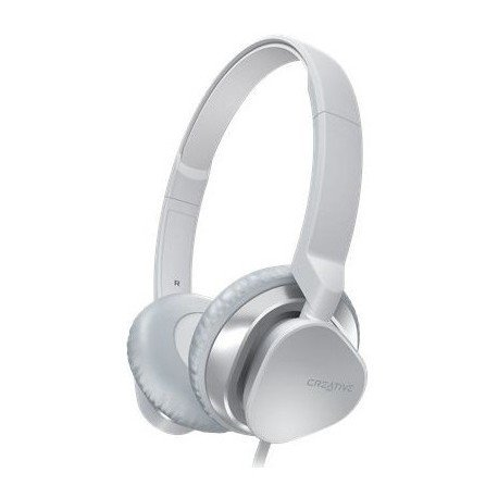 Słuchawki nauszne z mikrofonem Creative AM2300 do telefonu białe