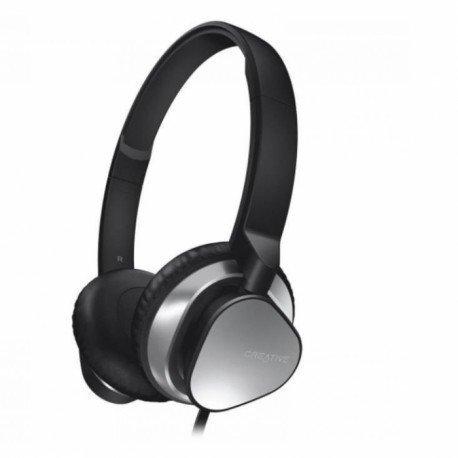 Słuchawki nauszne z mikrofonem Creative AM2300 do telefonu czarne