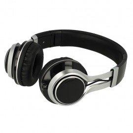 Słuchawki nauszne z mikrofonem Extra Bass do telefonu czarne