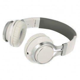 Słuchawki nauszne z mikrofonem Extra Bass do telefonu białe