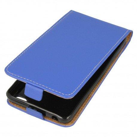Etui z klapką Flexi do telefonu Xiaomi Redmi 4A niebieski