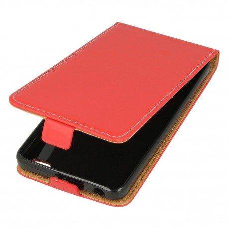 Etui z klapką Flexi do telefonu Xiaomi Redmi 4A czerwony