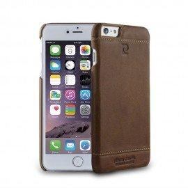 Etui na telefon Pierre Cardin skórzany do iPhone 6 brązowy